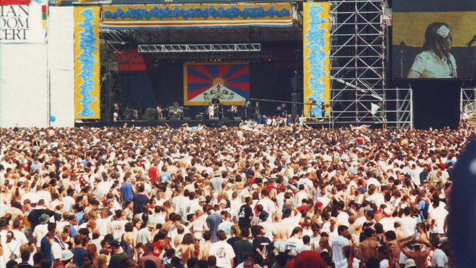 Remembering The Tibetan Freedom Concert
